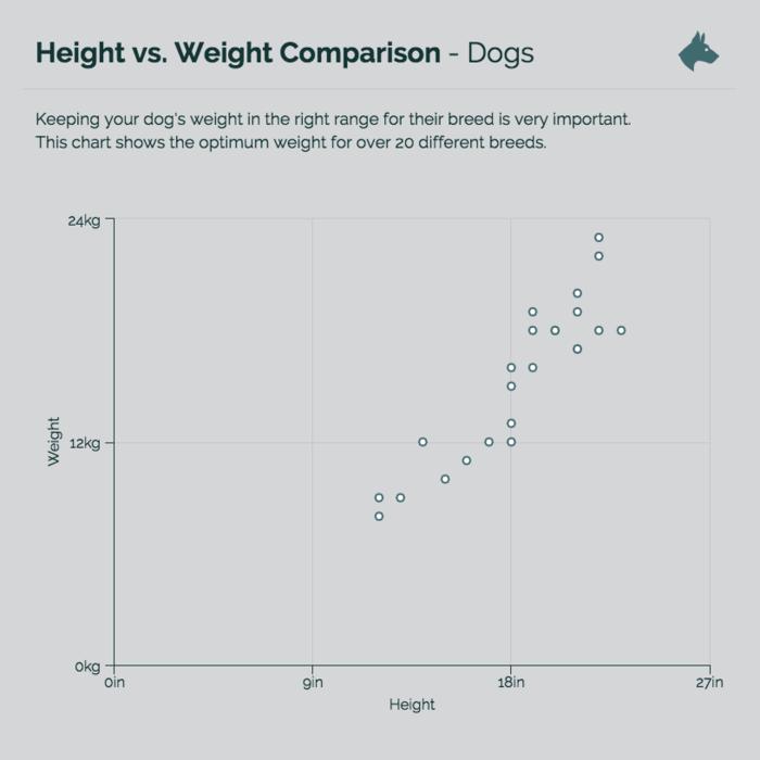 Comparison Scatter Plot Chart Template