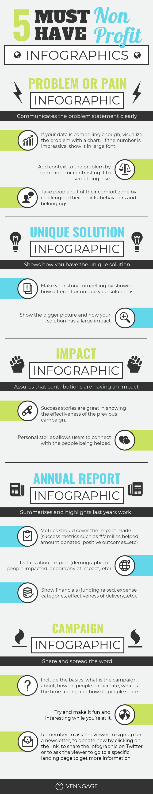 Non-Profit Infographic Template