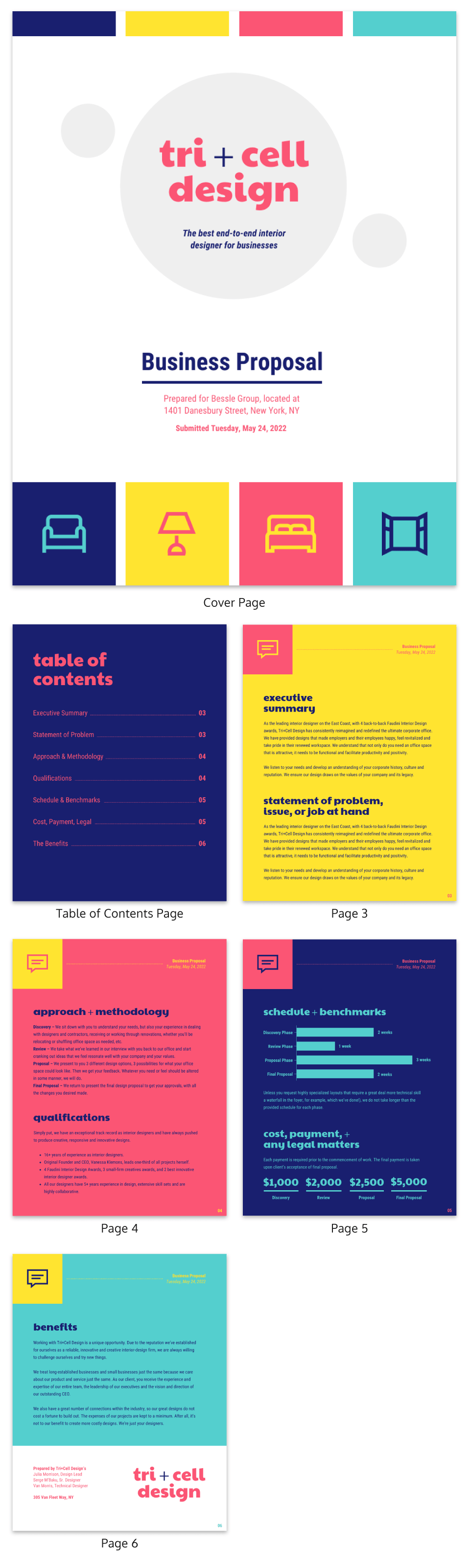 Creative business proposal template venngage creative business proposal wajeb