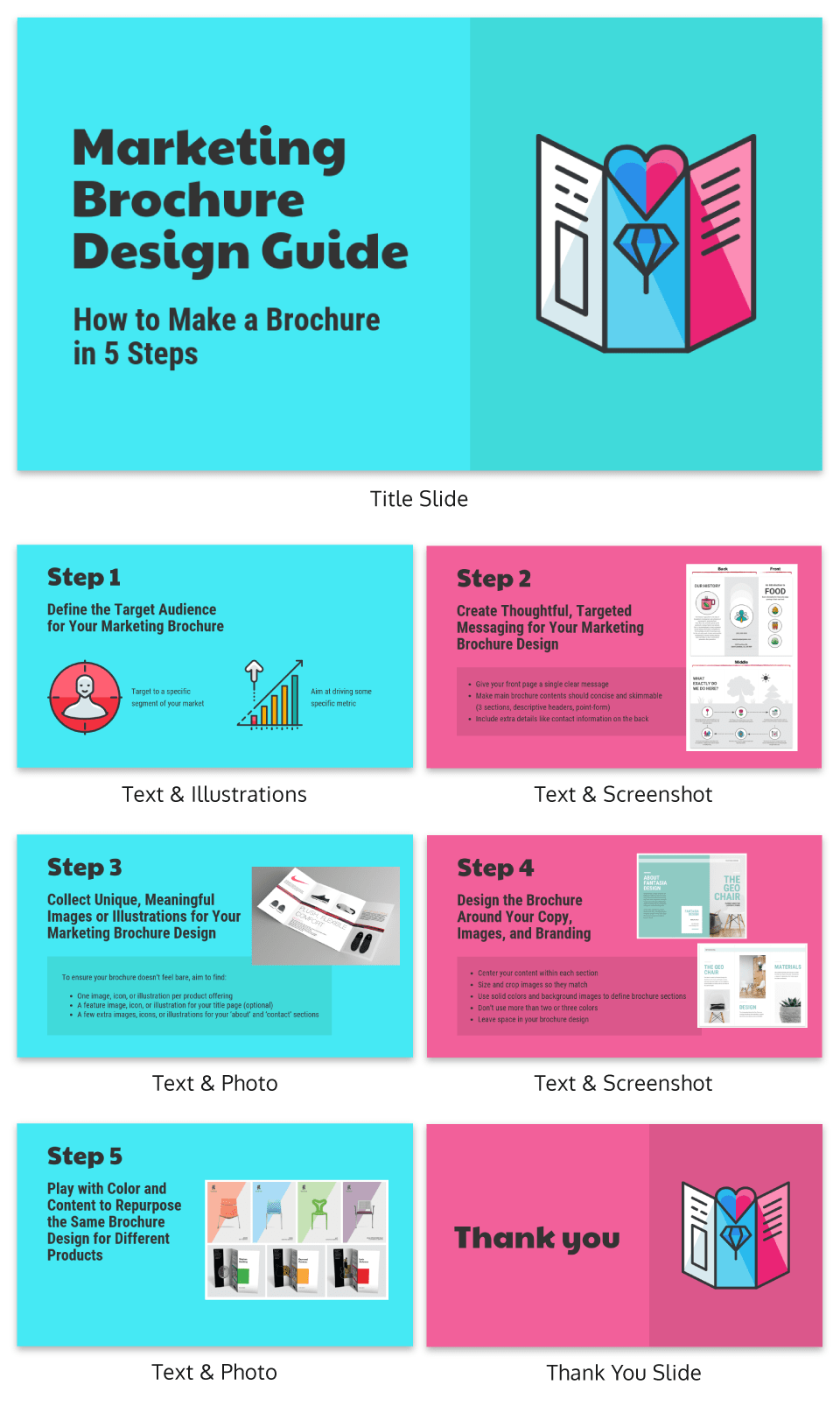 Make a Brochure Creative Presentation Template