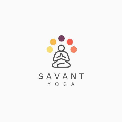 Yoga Creative Logo Template
