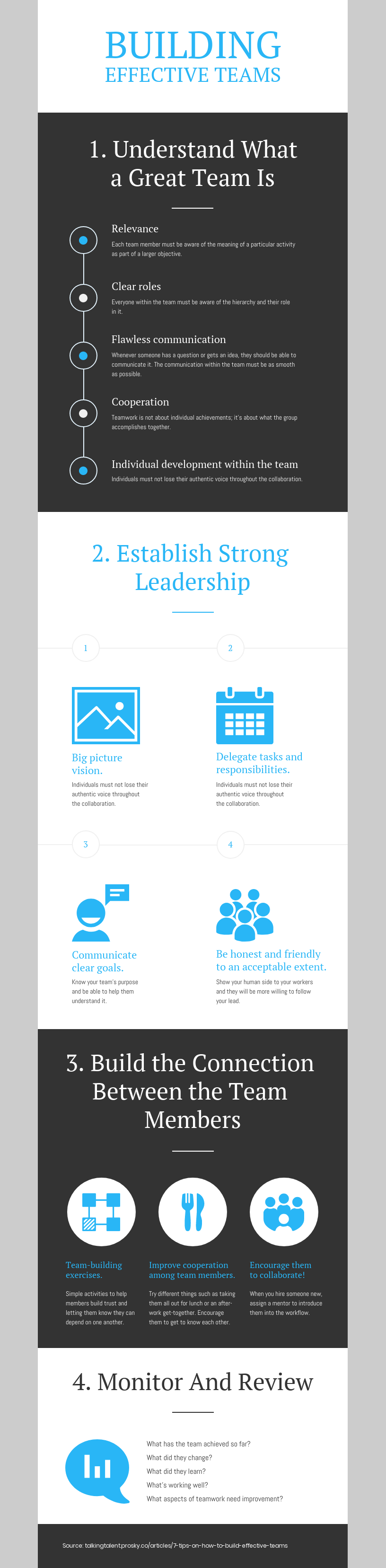 Building Effective Teams Infographic Template