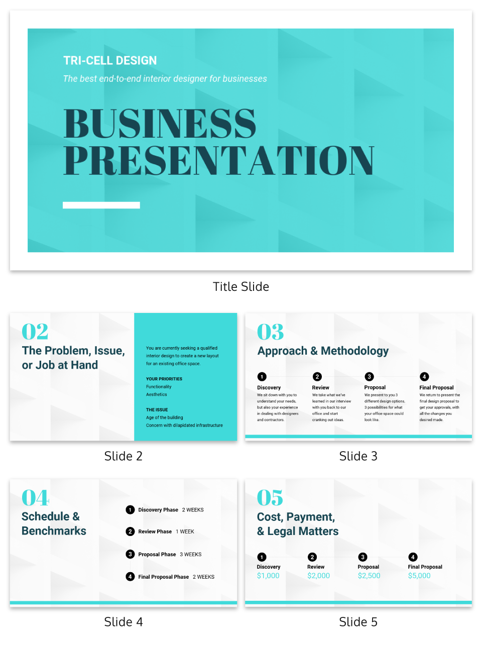 Texture Business Presentation Template