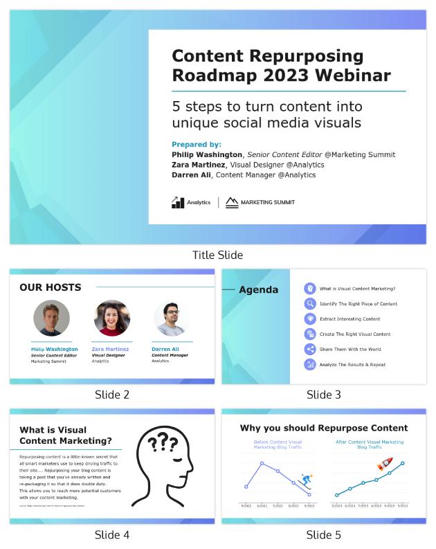 Marketing Virtual Event Webinar Presentation Template