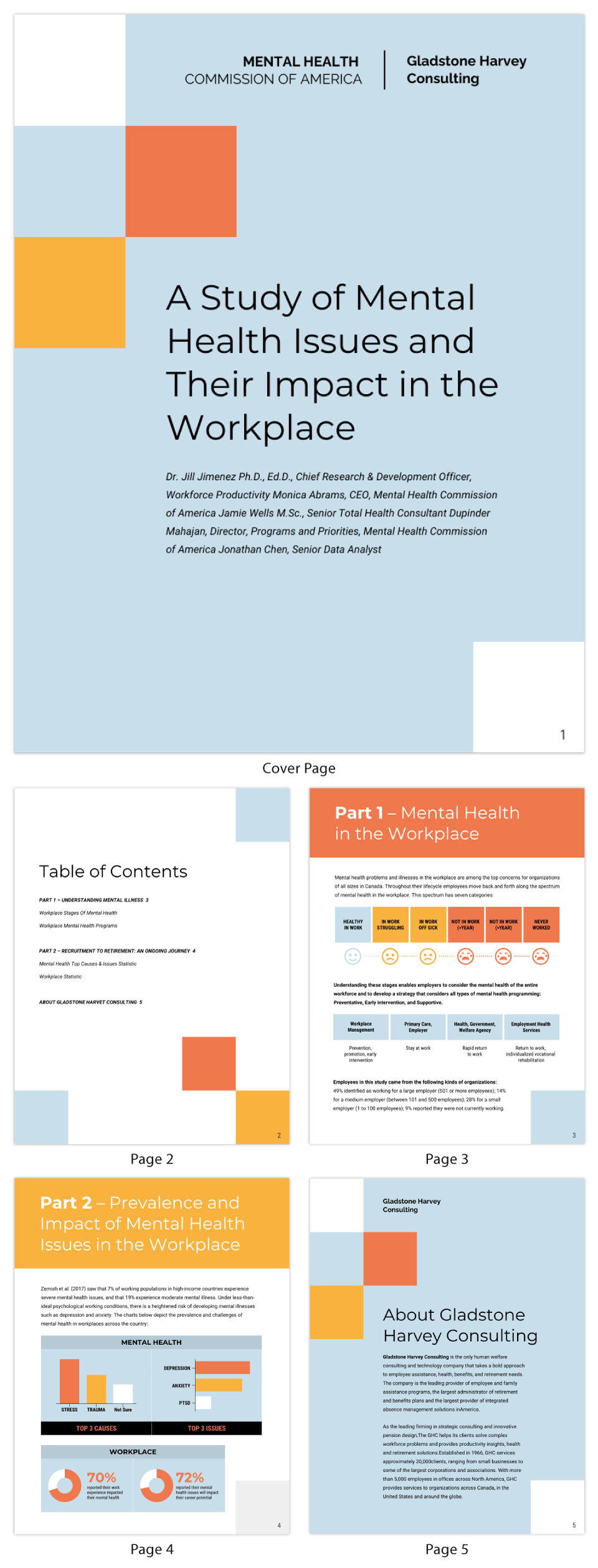 Modern Mental Health Policy White Paper Template