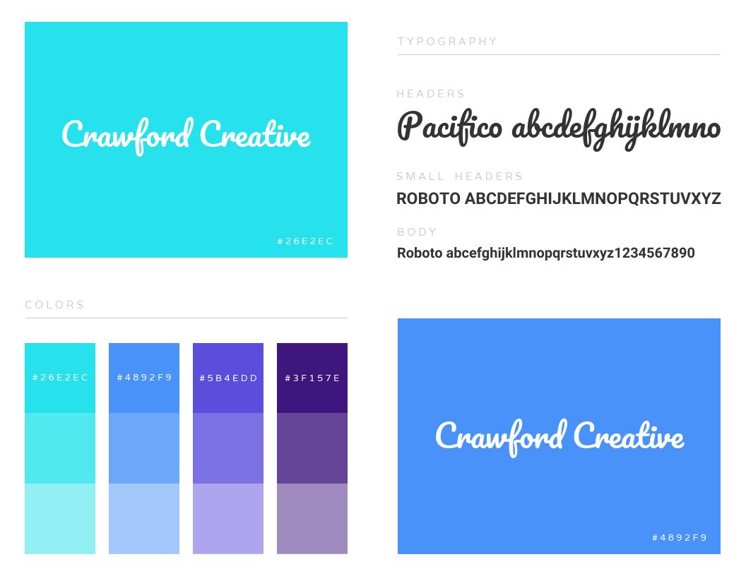 Creative Branding Infographic Template
