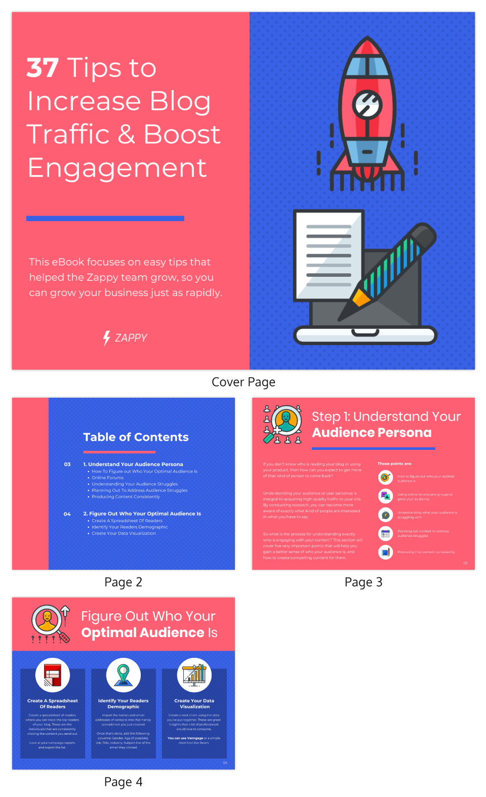 Tips to Increase Blog Traffic Engagement eBook Template
