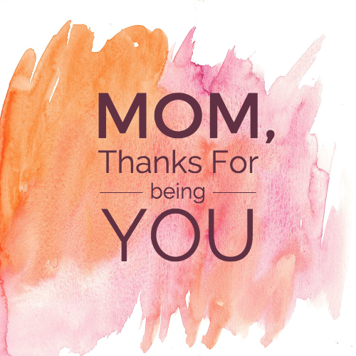 Colorful Mother's Day Card Template
