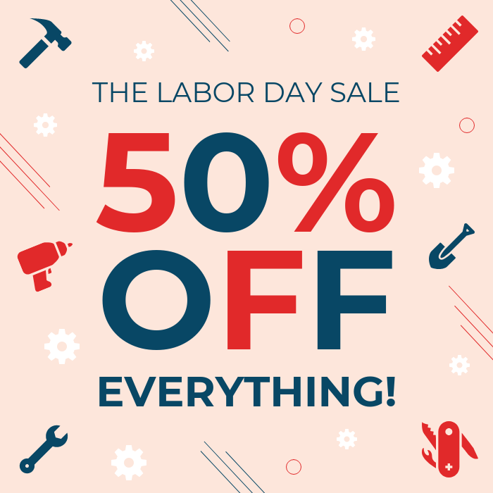 Labor Day Sale Instagram Post Template Template Venngage