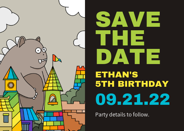 Save The Date Birthday Template from s3.amazonaws.com