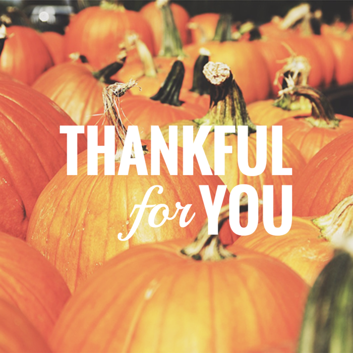 Thankful For You Card Template