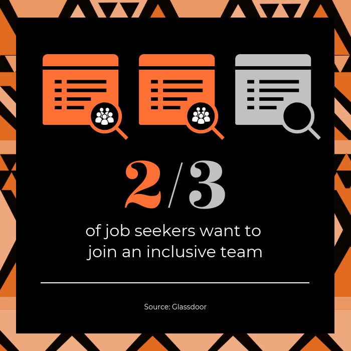 Job Seekers Statistic Instagram Post Template