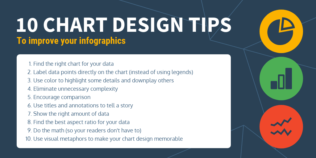 Chart Tips Infographic Template
