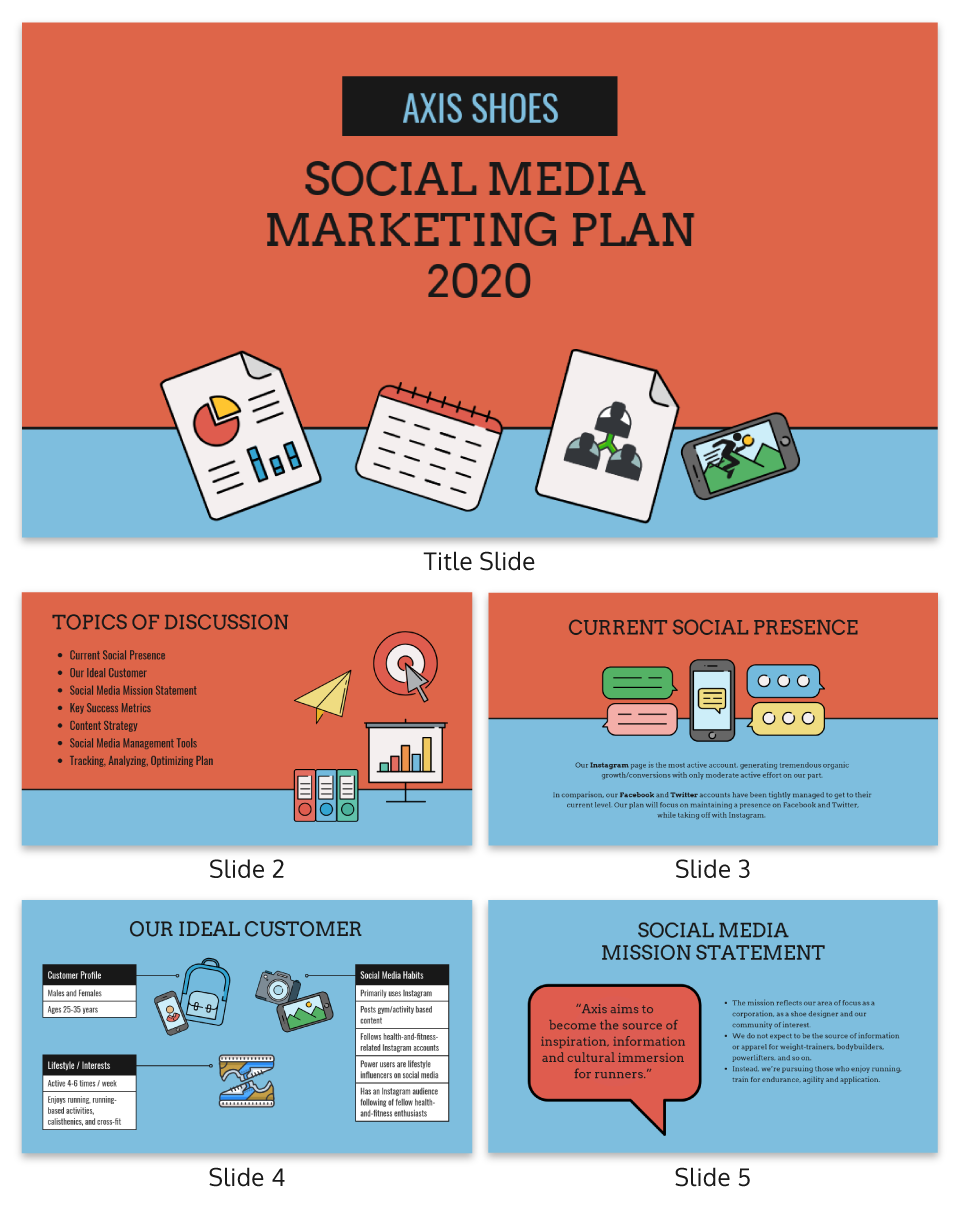 Social Media Marketing Presentation Template