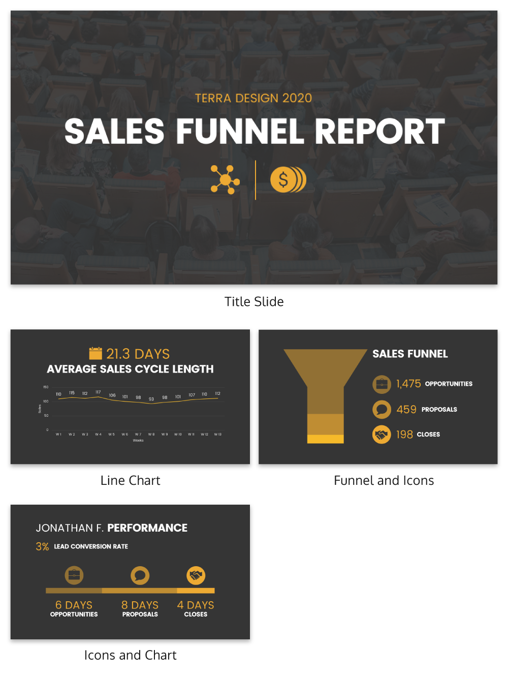 Simple sales funnel report template venngage simple sales funnel report maxwellsz
