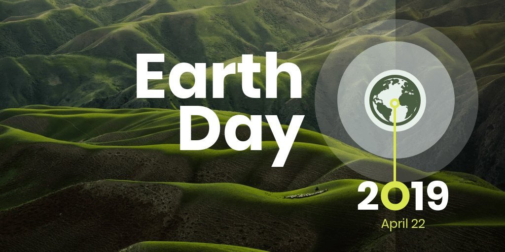 Earth Day 2019 Twitter Post Template