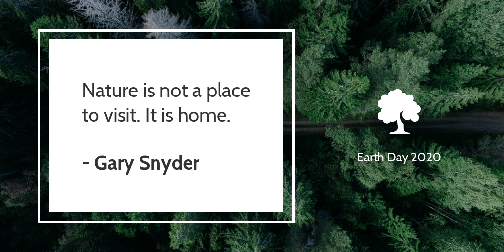 Earth Day Quote Twitter Post Template