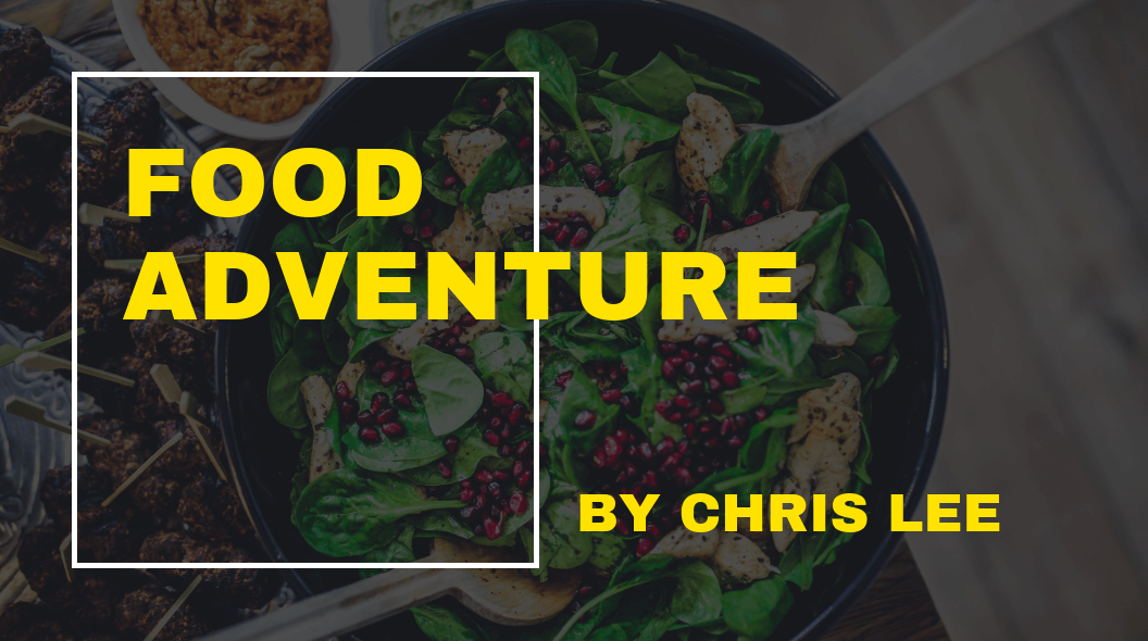Cooking Adventure Blog Banner Template