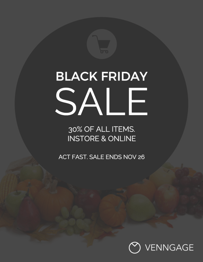 Black Friday Event Poster Template