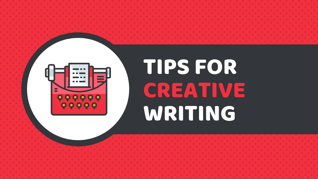 Red Creative Writing Blog Banner Template