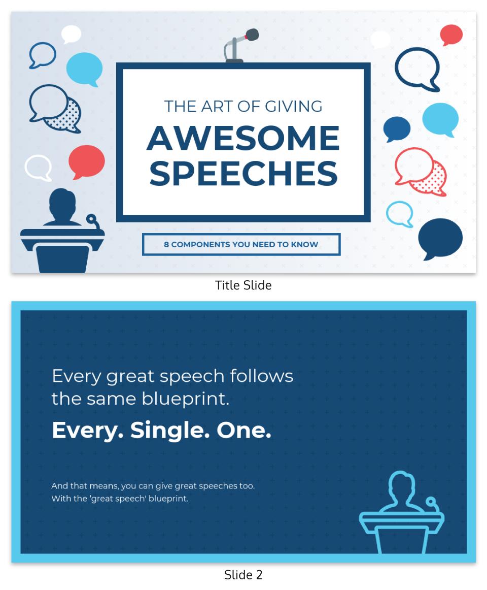 Blue Creative Keynote Presentation Template