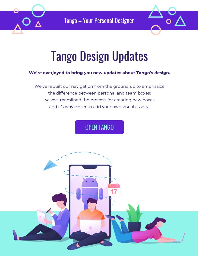 Indigo Startup Email Newsletter Template