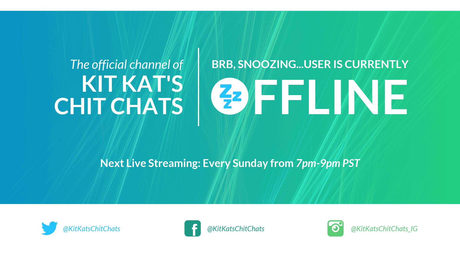 BRB Gradient Twitch Offline YouTube Banner Template