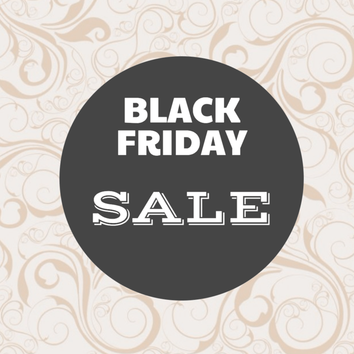 Black Friday Sale Event Poster Template