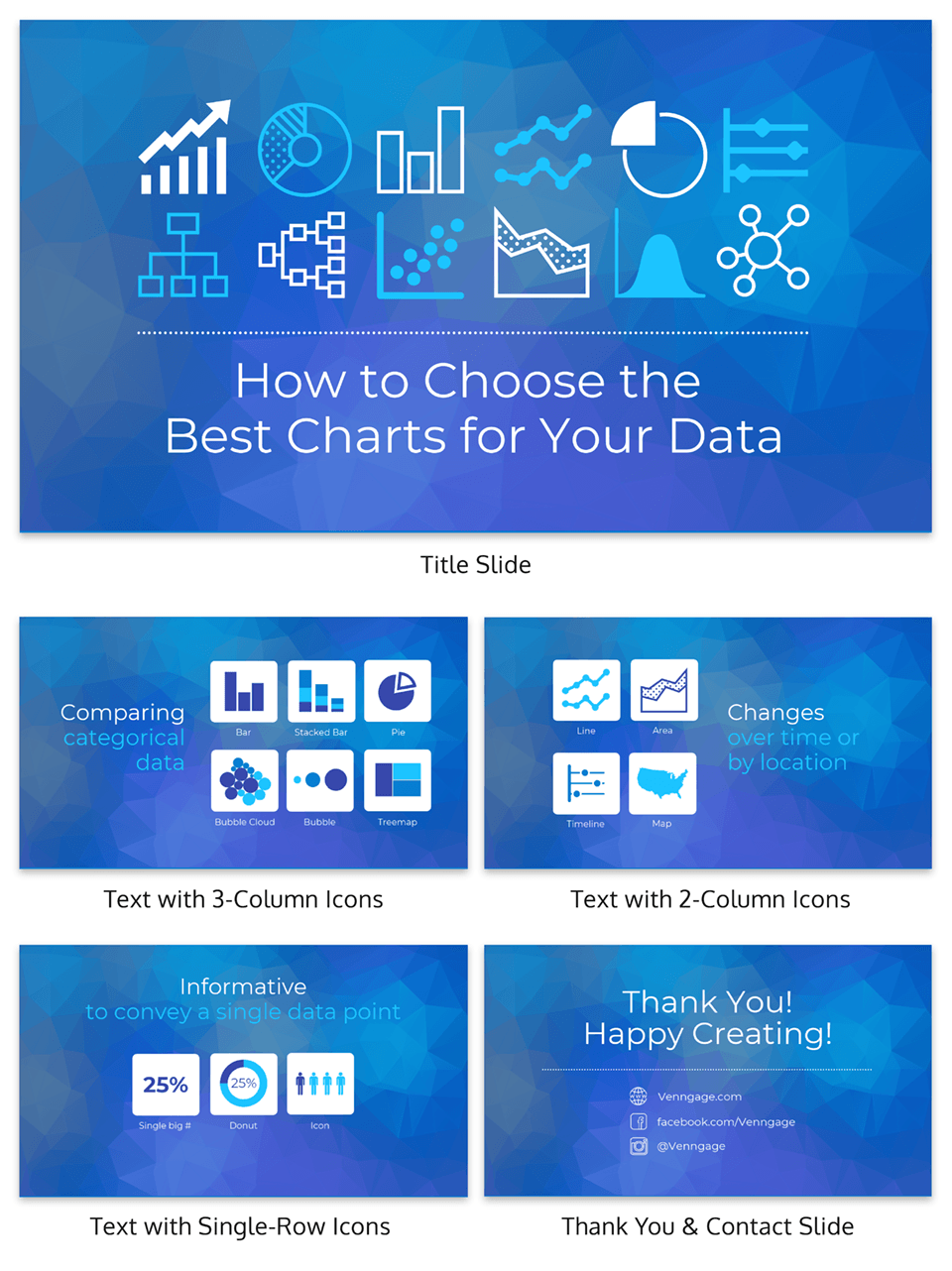 Data and Charts Creative Presentation Template