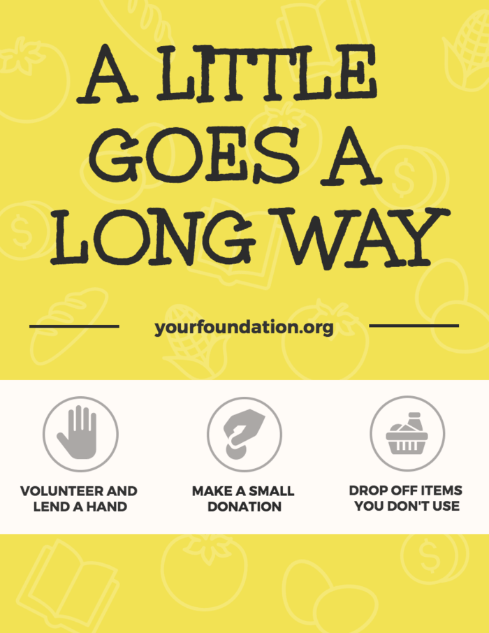 Charity Nonprofit Infographic Template