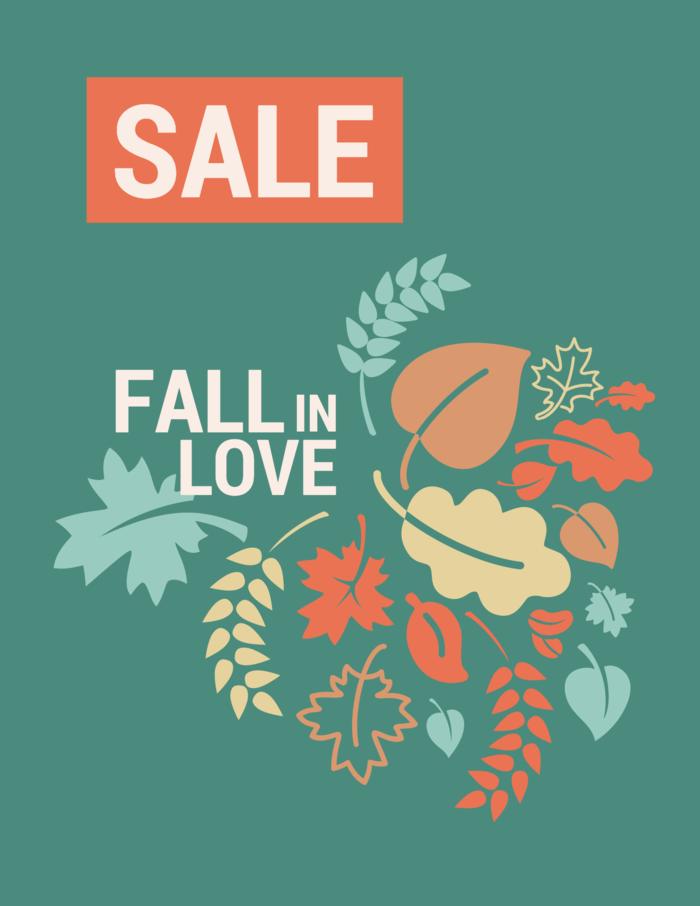 Seasonal Sale Event Poster Template