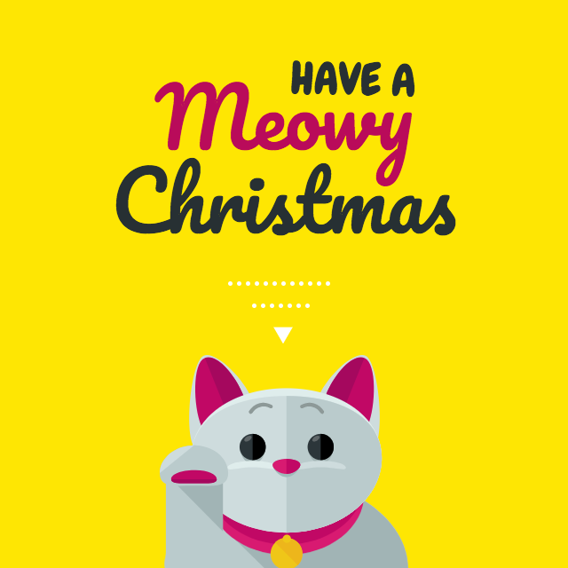 Cute Christmas Card Template
