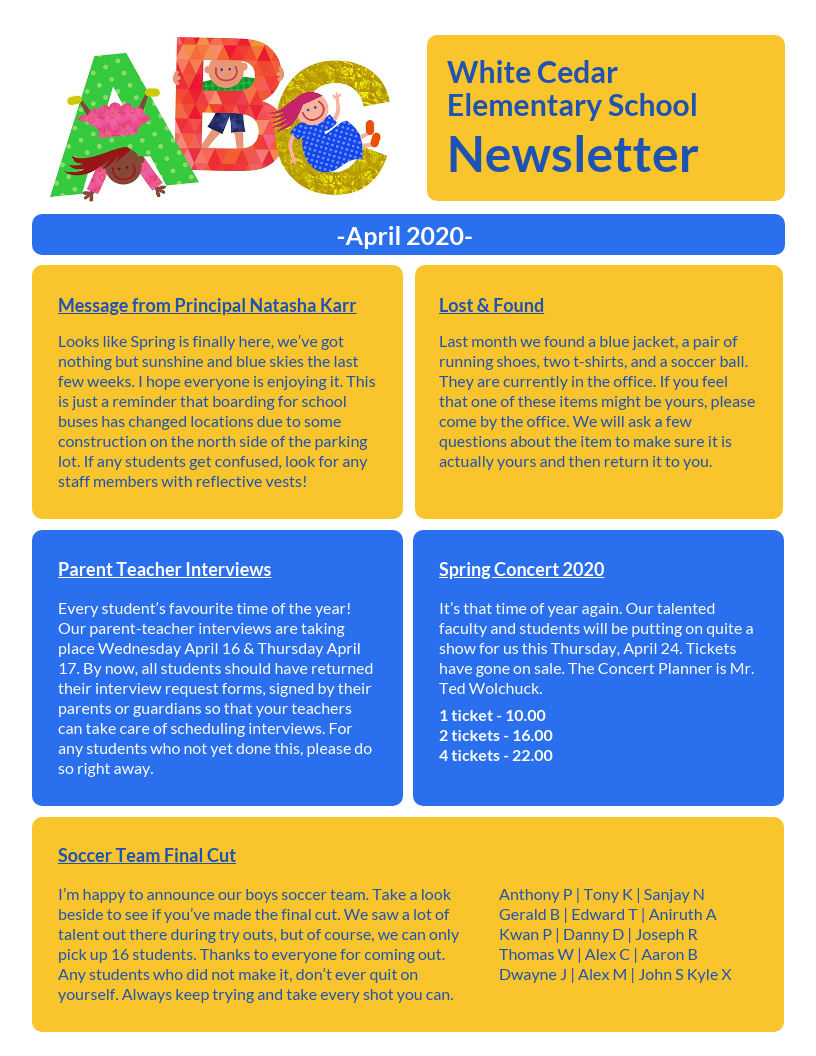 Elementary Classroom Newsletter Template from s3.amazonaws.com