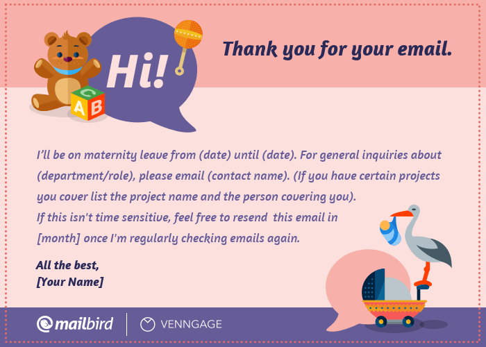 Top 7 Best Out of Office Message Examples 2019 - Mailbird