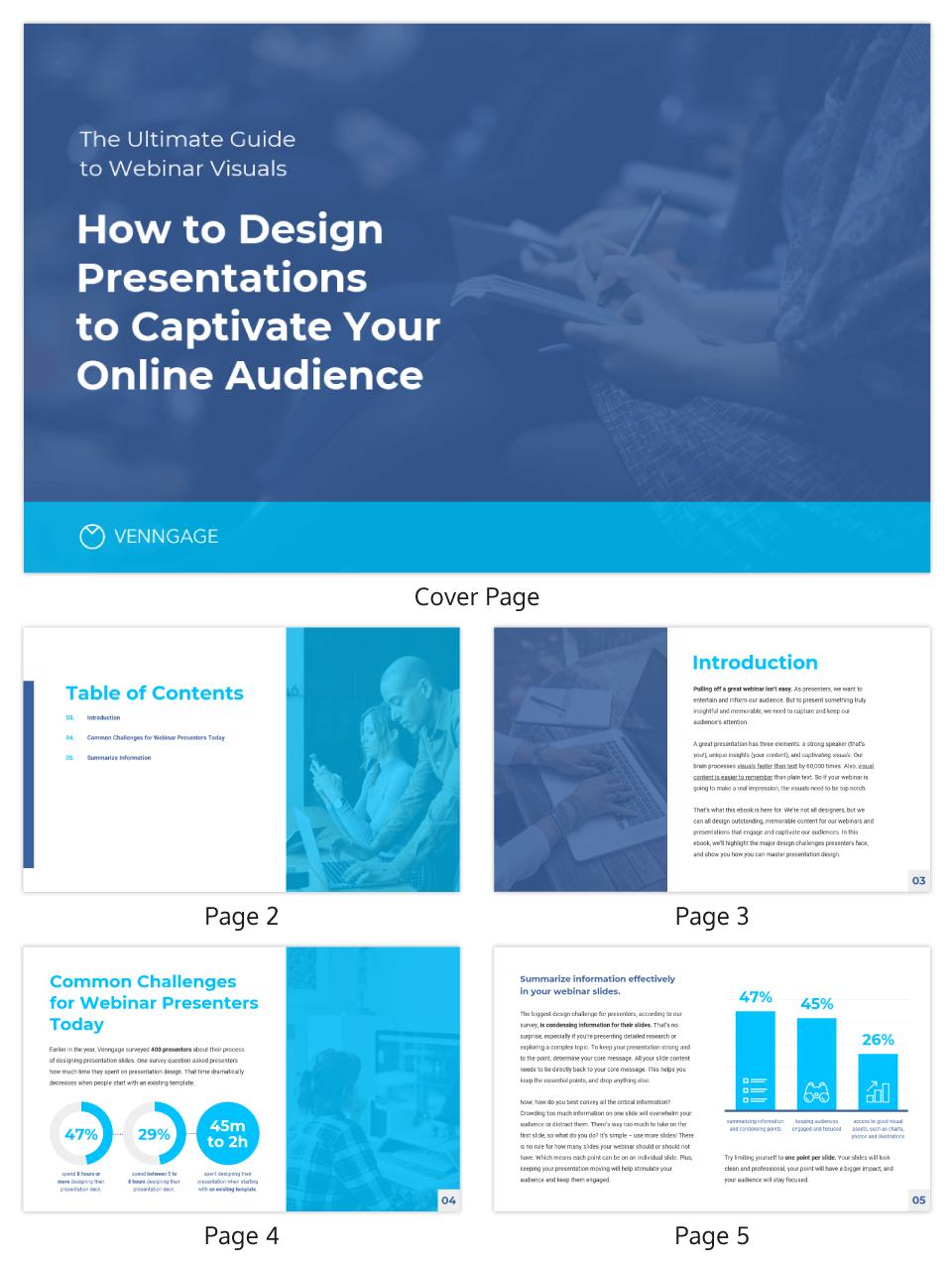 Presentation Design eBook Template