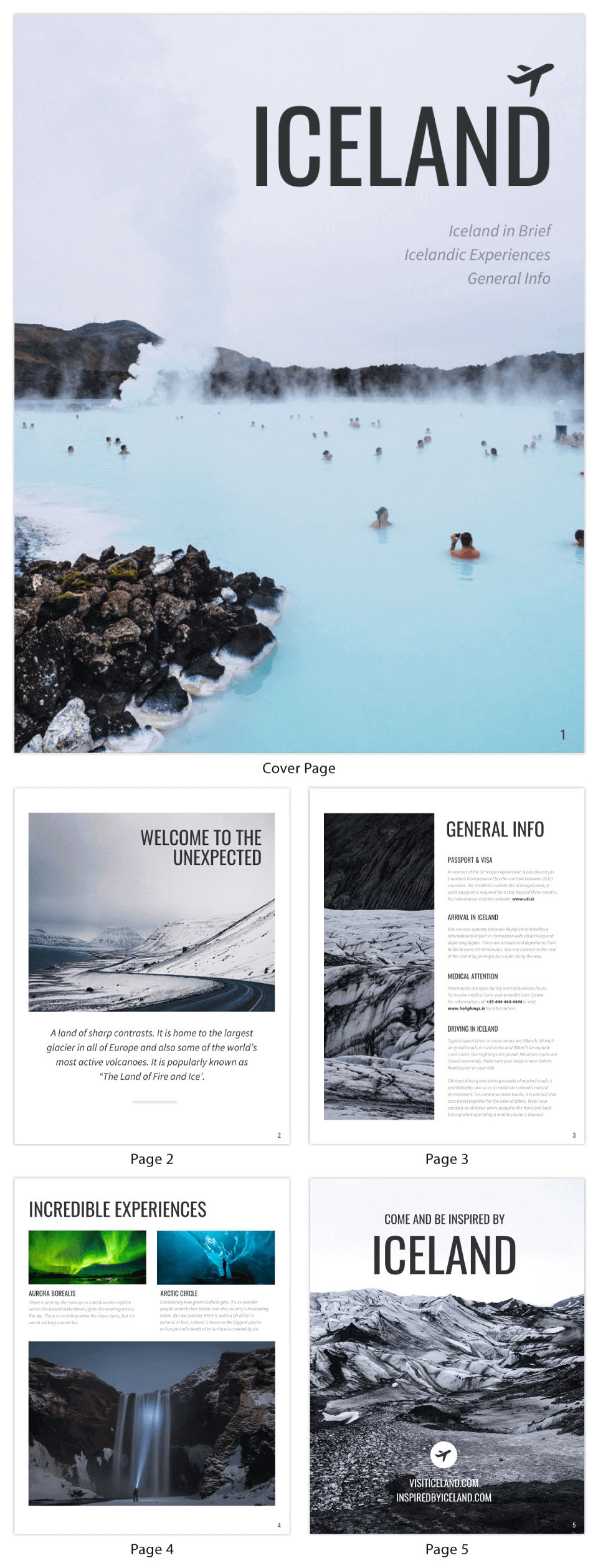 Travel eBook Template