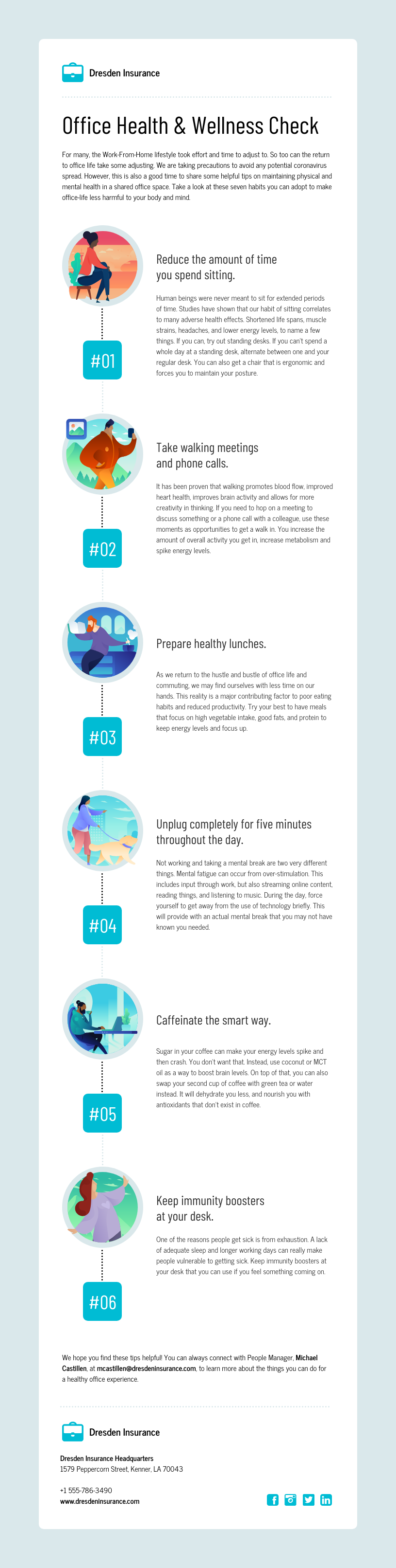 Health Insurance Email Newsletter Template