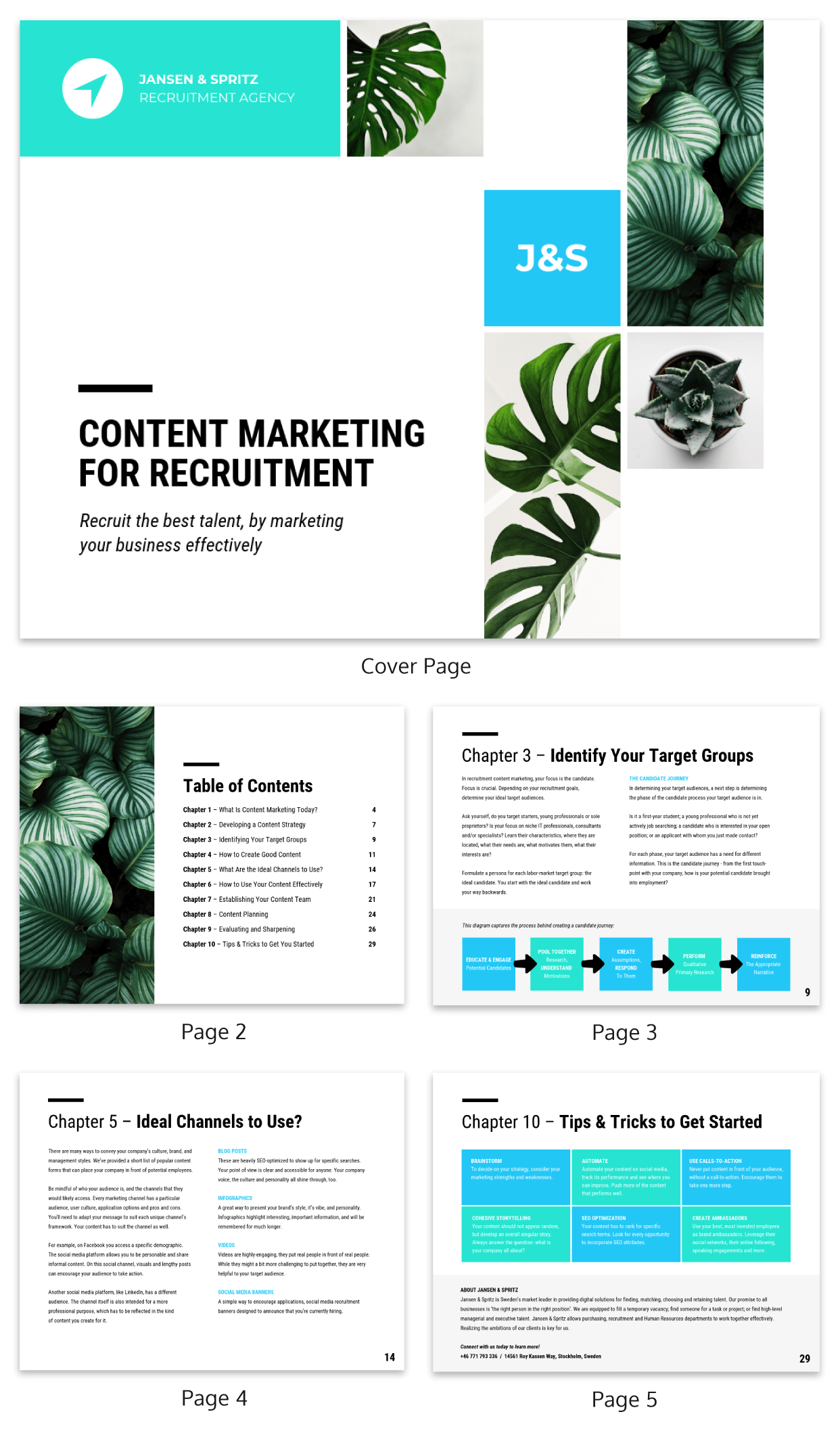 Human Resources White Paper Template