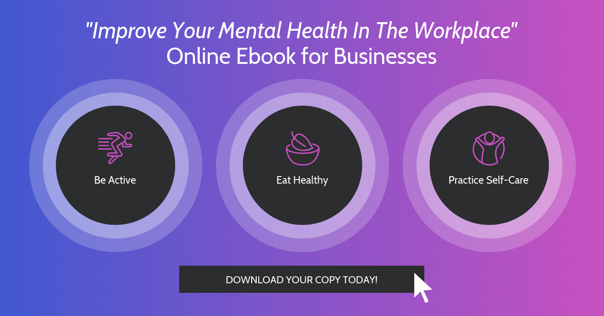 Workplace Mental Health Linkedin Banner Ad Template
