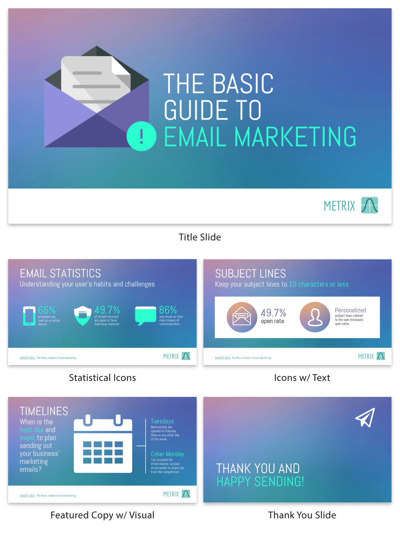 Email Marketing Business Presentation Template