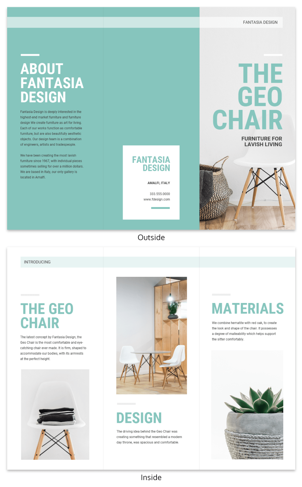 Product Sales Brochure Template Venngage - Sales brochure template