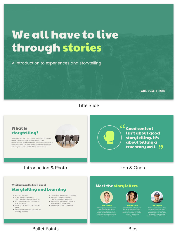 Vibrant Creative Presentation Template
