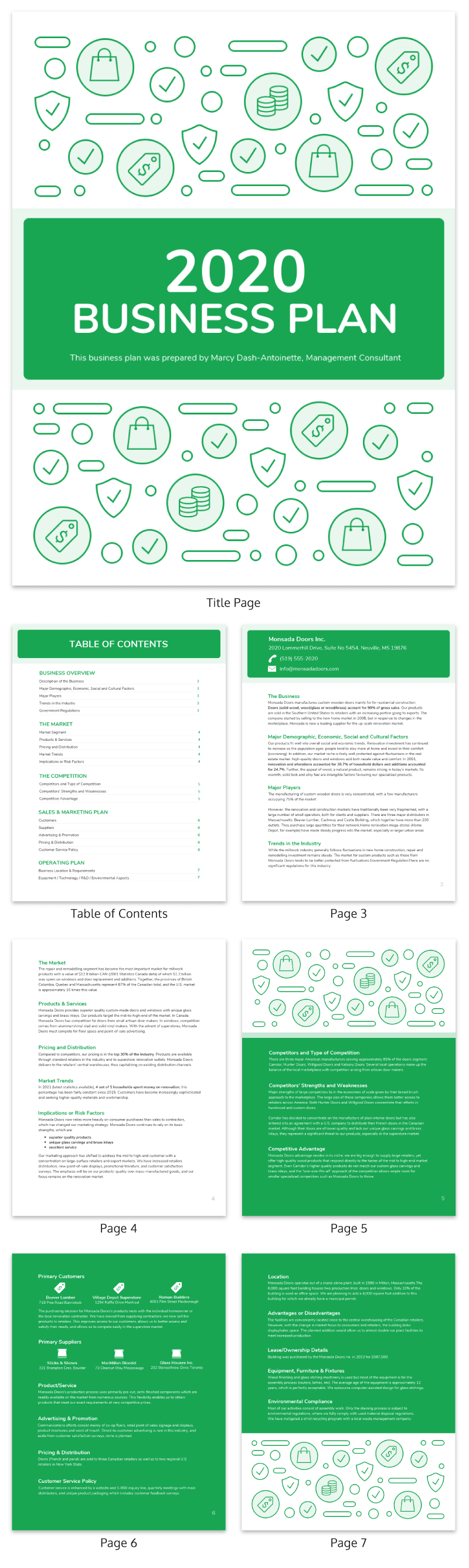 Comprehensive Business Proposal Template