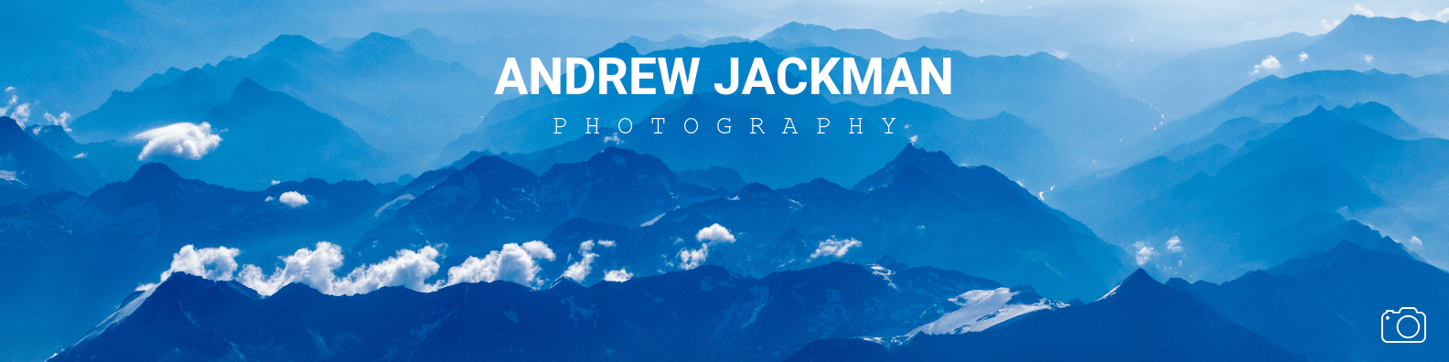 Simple Photography Profile Linkedin Cover Banner Template
