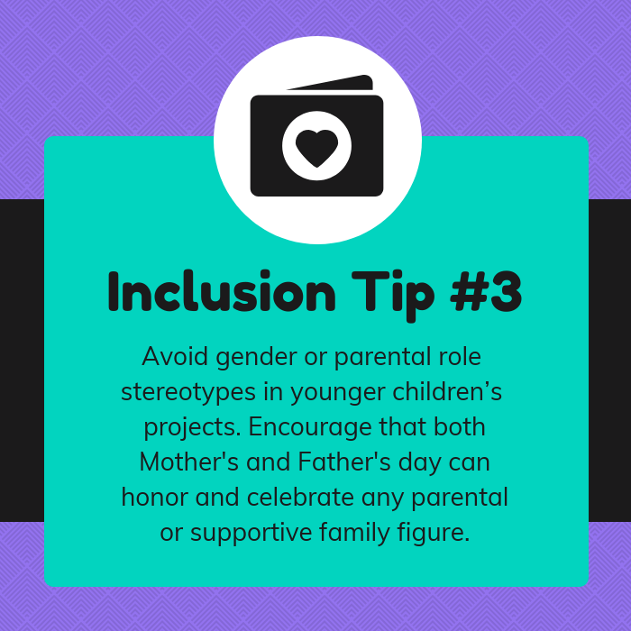 Family Diversity Inclusion Tips Instagram Post Template