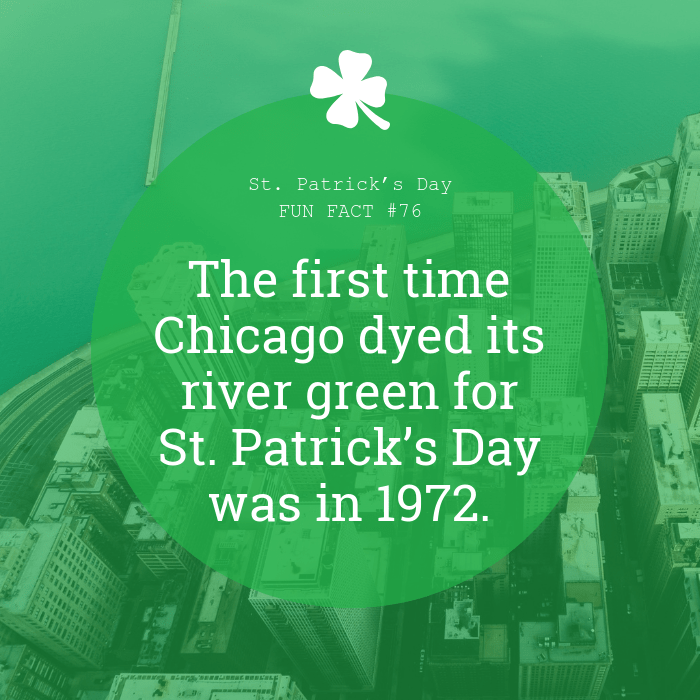 Historical Fact St. Patrick's Day Instagram Post Template