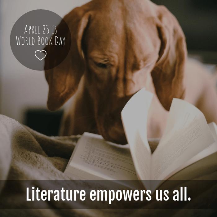 Puppy World Book Day Instagram Post Template