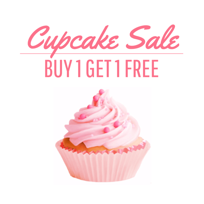 Cupcake Coupon Template