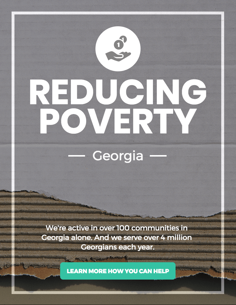 Poverty Infographic Template