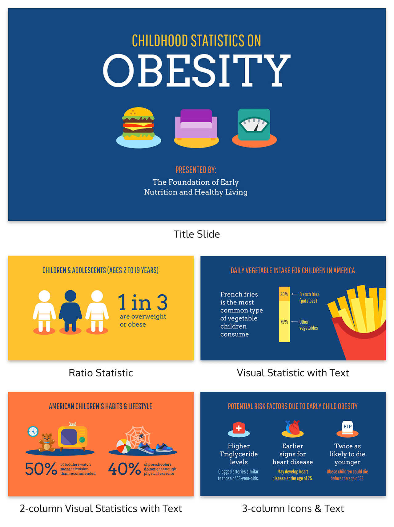 Health Creative Presentation Template